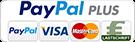 PayPal, Kreditkarte (Visa, Master)